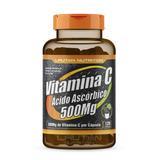 Vitamina C 500mg Pote Com 120 Cápsulas Lauton Nutrition