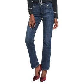 Levis Jeans 518 Acampanados Azul Mujer Original Envio Gratis