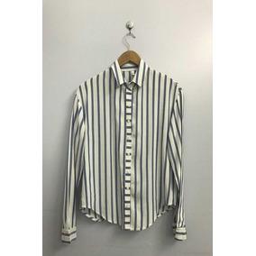 62371f5ae2316 Camisa Manga Larga Negra Raya Finita Camisas Chombas Blusas - Ropa y ...