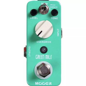 Pedal Mooer Green Mile - Overdrive