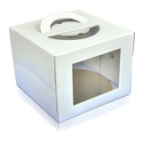 Caixa P/ Transporte De Bolo Ultrafest 32,5 X 32,5cm C/ 10