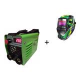 Máquina Solda Inversora Tig Elet 220v Mini230 + Mascara Lcd