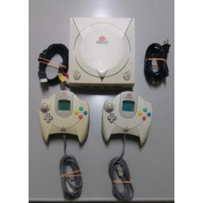 Dreamcast - 2 Controles 2 Vmu