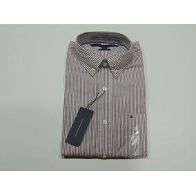 Camisa Tommy Hilfiger Manga Larga Trim Fit Ropa Masculina - Ropa y ... 650345dd5e98d