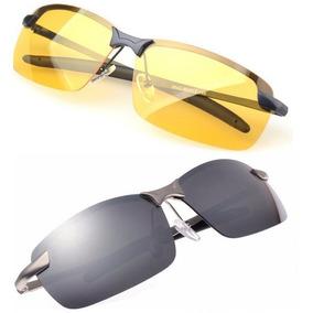 Óculos Masculino Feminino Dirigir À Noite Lentes Polarizadas ... b3c54bd7e7