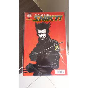 Wolverine Snikt! Completo Em 2 Edições