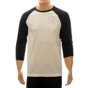 d0c1873836 Camiseta Nike Sb 3 4 Raglan Logo Sb Nike Sb