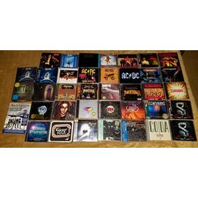 Discos Cd Kiss Rush Pantera Judas Scorpions Maiden Rammstein