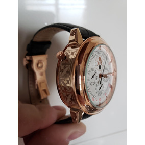 Relógio Patek Philippe Geneve Sky Moon Tourbillion Ouro