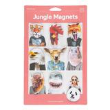 Magnetos C/forma De Animales De Jungla Doiy