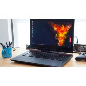 Laptop Gamer Legion Y920 Gtx1070, 16gb, 512+512 Ssd + 1tb