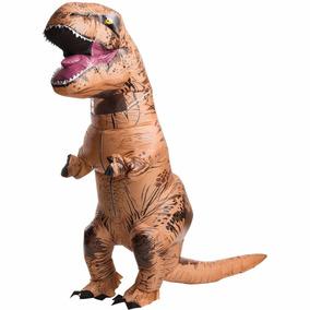 Traje Disfraz Inflable Forma Dinosaurio T-rex Adult
