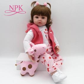 8a4f41bb58 Boneca Realista Bebê Reborn Lara - Linda! + Brindes