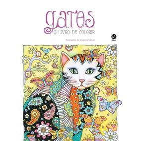 Livro Gatos De Colorir