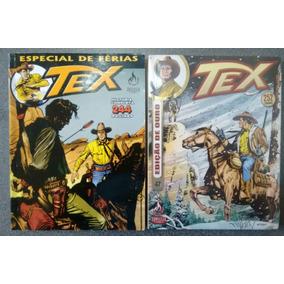Kit 2 Gibis Tex Ouro 47 E Tex Especial De Férias 09