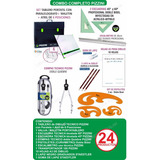 Kit Tablero 50x60 Pizzini Atril 6 Pos Dibujo Tecnico 24 Item