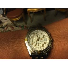 Breitling Cronomat Automatico Cronometro Acero Y Oro De 18kt