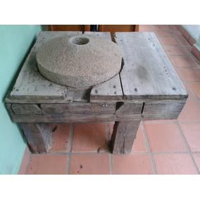 Moinho De Fubá Antigo, R$2.990,90 Com As Pedras!