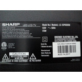 Tv Sharp 55 Pulgadas Partes