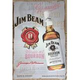 Anuncio Jim Beam De Lámina, Para Colección