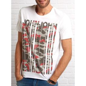 Camiseta John John Rg Slime John Masculina 8611eb09382