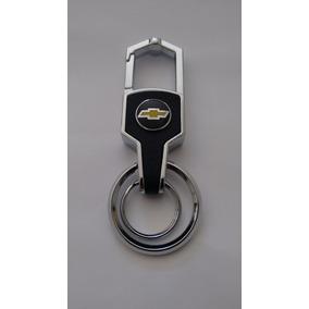 Chaveiro Mosquetão Chevrolet Liga De Metal Agile Prisma Onix