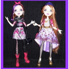 Ever After High Holly E Poppy Mattel Produto De Exposição