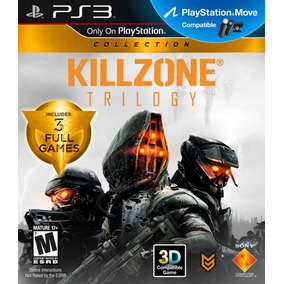 Jogo Killzone Trilogy Playstation 3 Ps3 Mídia Física Complet
