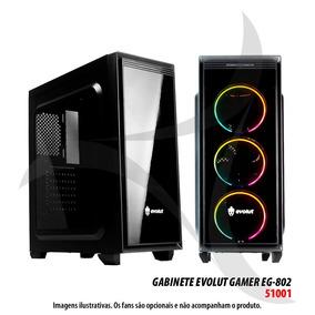 Gabinete Evolut Gamer Eg-802