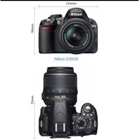 Nikon D3100 Com Lente E Bolsa