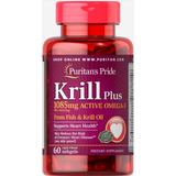 Óleo De Kril (krill Oil) 1085mg 60 Cáps Importado Fr Grátis