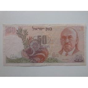 Cédulas 50 E 100 Lirot Israel 68 - 50 E 100 Shekel 78/79