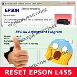 Reset Almohadillas Impresora Epson L455 Solución Inmediata.