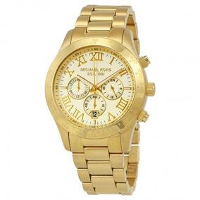 cb2f3b7db90bc Relógio Michael Kors Mk 8214 Dourado Feminino Original - Relógios De ...