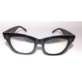 1ccdb587d5887 Óculos De Sol Blogueirinha Céline Importado Preto Feminino