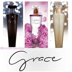 1 Perfume Hinode Grace Preto, Branco Ou Rosa - 100ml
