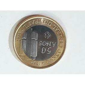 Moeda 50 Anos Do Banco Central Do Brasil