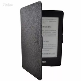 Capa Para Kindle Paperwhite Preto On/off + Pelicula