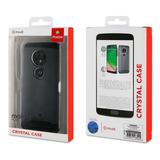 Capa Cristal Case Moto G7 Play Original Transparente