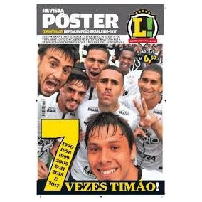 Revista Pôster Corinthians Heptacampeão 2017 Lance