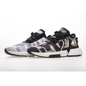 check out e343b ab901 Tenis Zapatillas Bape X adidas P.o.d 3.1 Originales