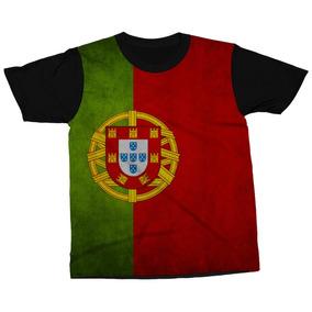Camiseta Portugal Bandeira Símbolo País Blusa Camisa Estampa · R  89 46aa0f4eedc1d