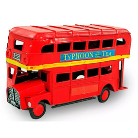 Miniatura Metal Ônibus