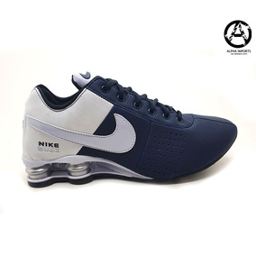 7d364468fb Tenis Nike Shox Classic Preto E Prata Cromado R4 Tamanho 42 - Nike ...