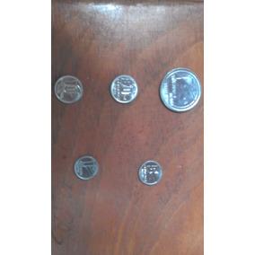 Set Moedas Cruzado Novo 1989