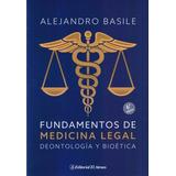 Basile Fundamentos De Medicina Legal 6º/2015 Nuevo Envíos Mp