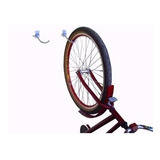3 Suportes De Teto E Parede P/bike Galvanizado