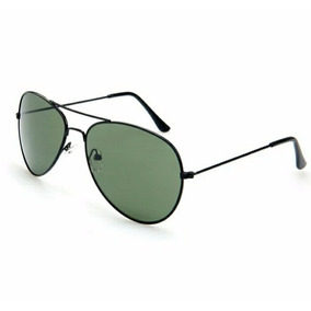8cc1caa079d62 Óculos Sol Aviador Espelhado Preto Prata Branco Uv400 De - Óculos no ...