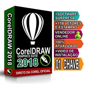 Corel Draw 2018 01 Licença Original Superior À X7 X8 X9 2017