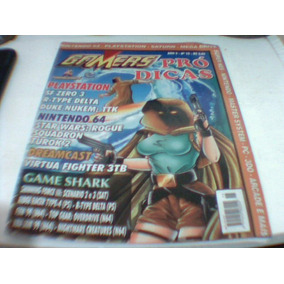 Revista Gamers Pró Dicas 15 Playstation Saturn Nintendo 64